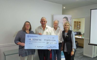 Medical Forum Theatre hands over proceeds from successful White Cane Charity Run